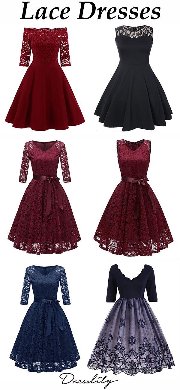 Dresslily Lace Vintage Dresses You Don T Want To Miss Out Dresslily Lace Dress Lace Dress Vintage Cocktail Dress Vintage