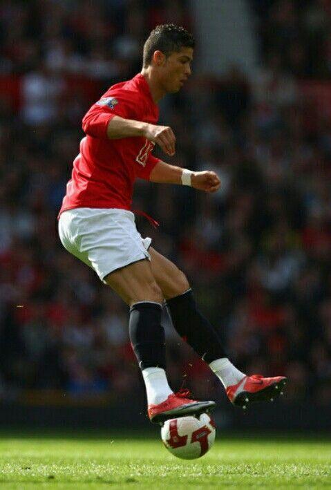 Cristiano Ronaldo of Man Utd in 2008.