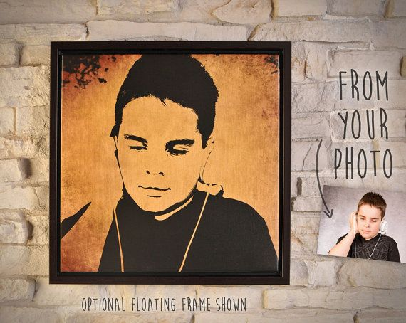 $89.95+ CAD - Turn your pictures into pieces of art. The result is a beautiful, high quality canvas with or without the frame. Perfect gift.