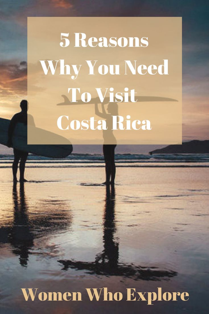 We narrowed down our top 5 reasons why you need to visit Costa Rica now!