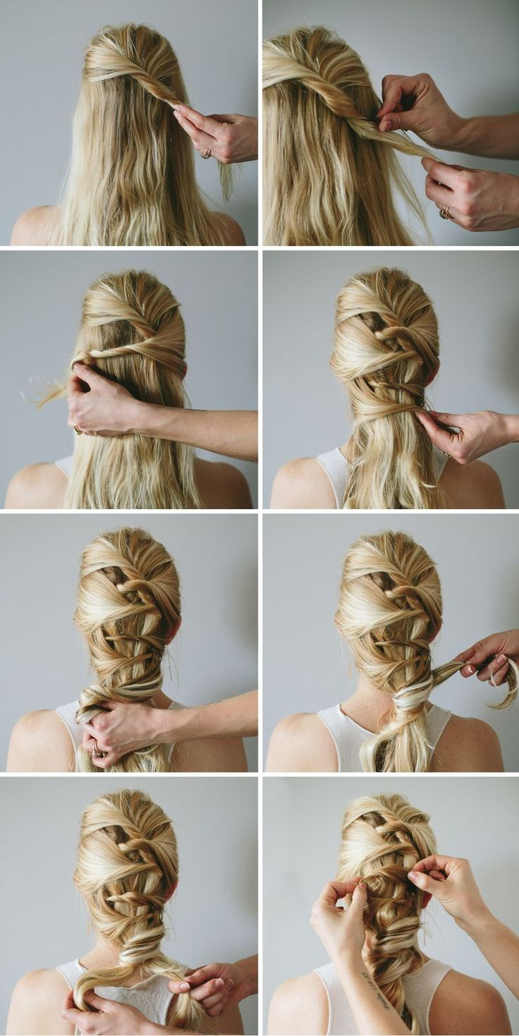 253 best step by step hairstyles images on pinterest | hairstyles