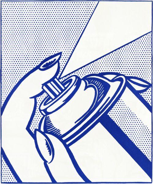 ROY LICHTENSTEIN,Spray Can , 1963