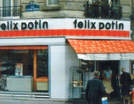 succ Felix Potin des annees 70 (3) ~ lu dans Le chapeau de Mitterrand d'Antoine Laurain