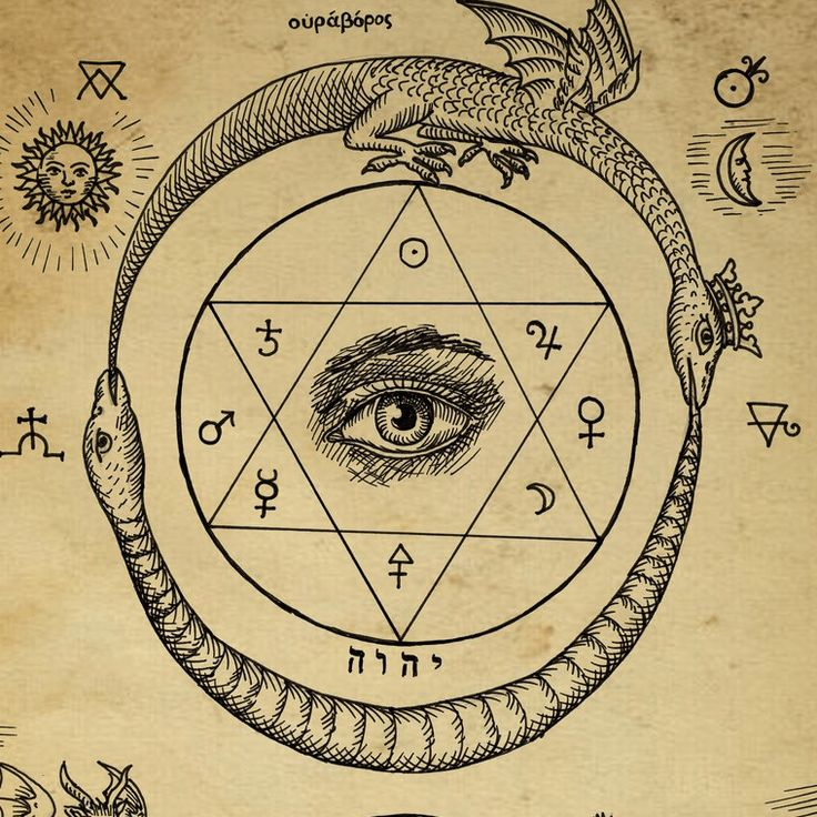 Alquimia y Figuras Geometricas. La Estrella de David.