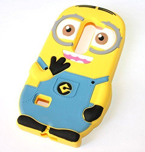 For LG Leon 4G LTE Phone Case - Cute Despicable Me Minions Yellow/Blue Soft Rubber Silicone Protection Skin Cover and Stylus Pen [MobileCentral], http://www.amazon.com/dp/B013HCW5V4/ref=cm_sw_r_pi_awdm_OSAYvb033XQM7