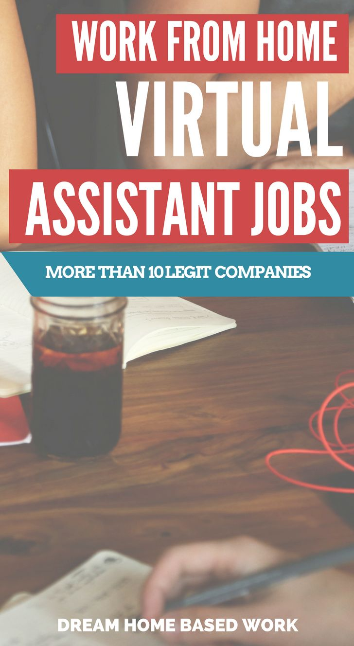 Becoming a virtual assistant allows you to work from home and make money on your own terms.