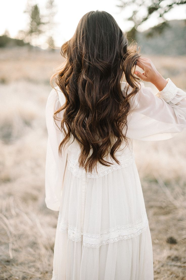 These #California beach curls are fun and flirty. Could work for any season!