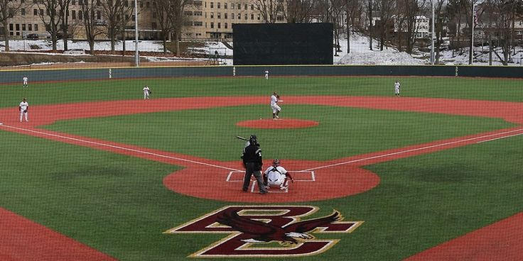 Boston College's beautiful new Brighton Baseball Field