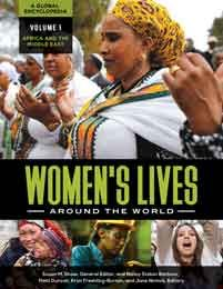 "Check out ""Women's Lives Around the World: A Global Encyclopedia,"" edited by Susan Shaw (Professor WGSS), Nancy Barbour (Instructor WGSS), Patti Duncan (Associate Professor WGSS), and Jane Nichols (Associate Professor & Head, Teaching and Engagement Librarian)."