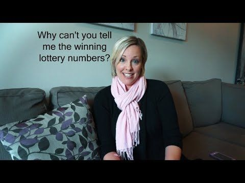 Why can't you tell me the winning lottery numbers? - (More info on: https://1-W-W.COM/lottery/why-cant-you-tell-me-the-winning-lottery-numbers/)