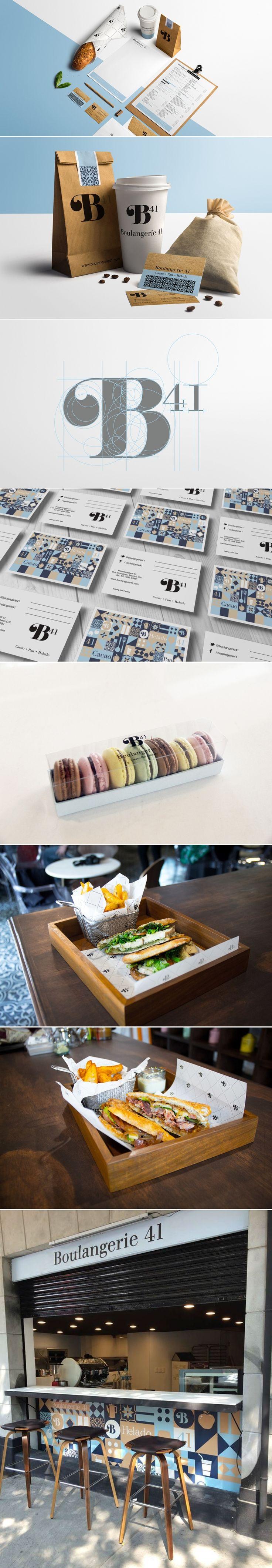 Boulangerie 41 — The Dieline   Packaging & Branding Design & Innovation News