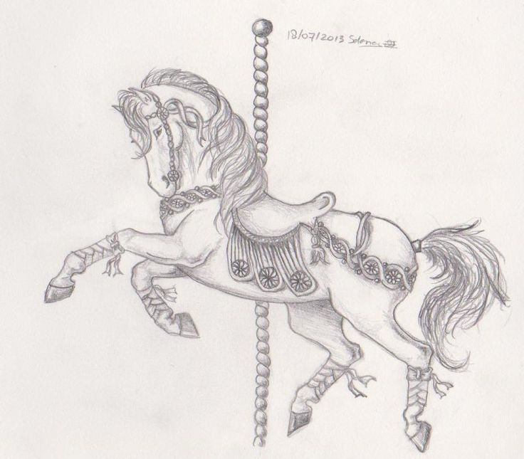 Carousel Horse by Merenwen-Melwasul on DeviantArt                                                                                                                                                      More