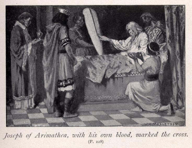 Joseph of Arimathea | Joseph of Arimathea, with his own blood, marked the cross | Robbins ...