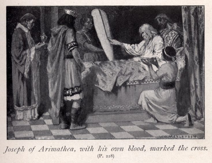 Joseph of Arimathea | Joseph of Arimathea, with his own blood, marked the cross | Robbins ...