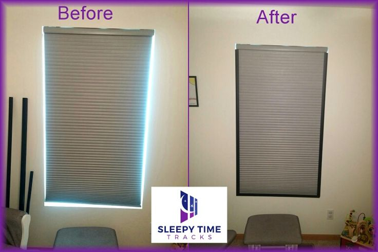 Turn your bedroom into a sleep haven with Magnetic Sleepy Time Tracks. Block light that creeps through the sides of room darkening shades