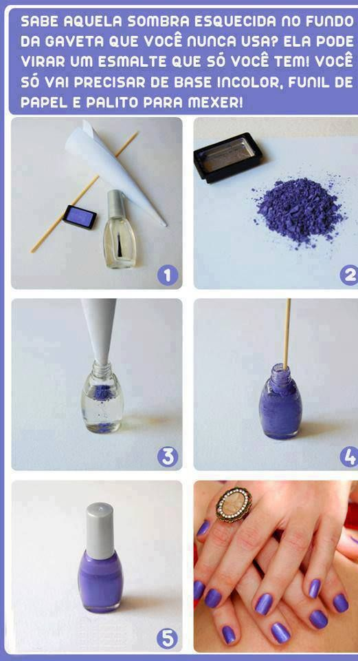 make your own color of nail polish