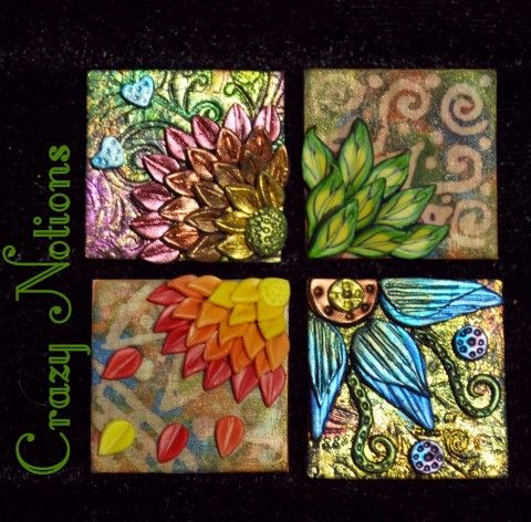 Donna Cruz-Comia's polymer clay inchies can really help you explore variation and stretch your creativity, as seen on The Polymer Arts blog, http://www.thepolymerarts.com/blog/3437