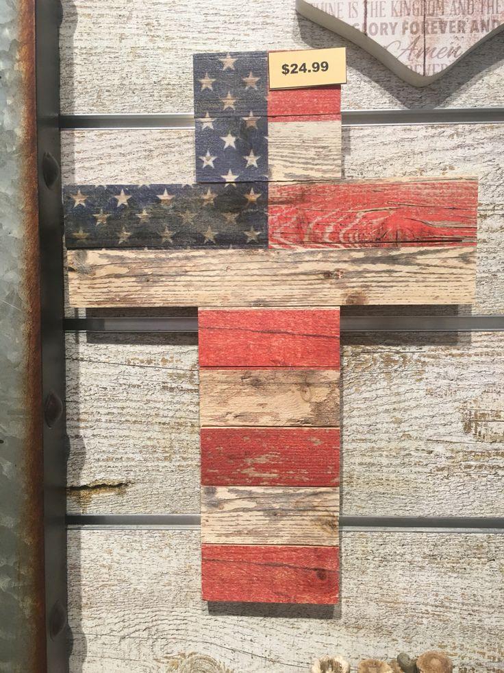 American flag cross                                                                                                                                                     More