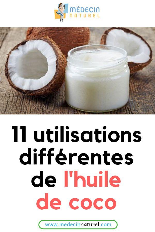 11 utilisations différentes de l'huile de coco