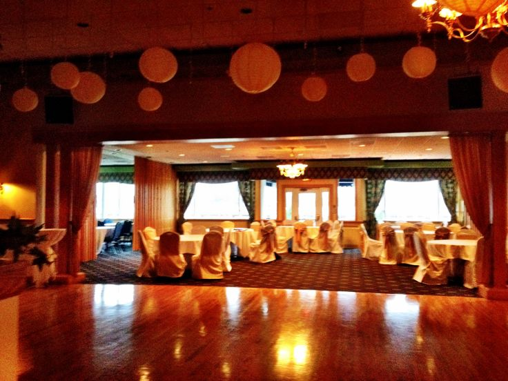 BLC dance floor leading into the Main Dining Room, which can accommodate up to 225 of your closest friends and family!