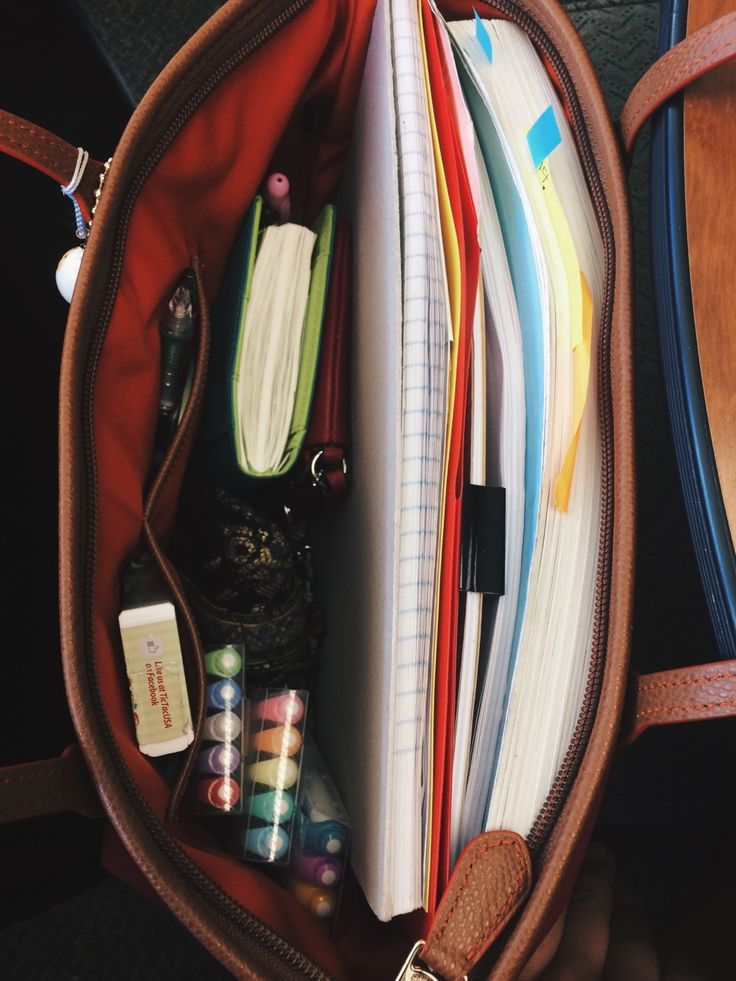 """anne-alytically: """"009/100 days of productivity ✨ Oct.18.16 The contents of the purse today as I tackle my Thursday classes. I actually usually bring in a backpack but today I decided to not bring a..."""