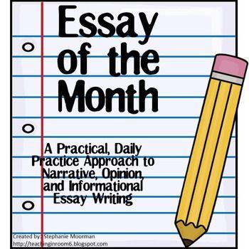 essay writing approach