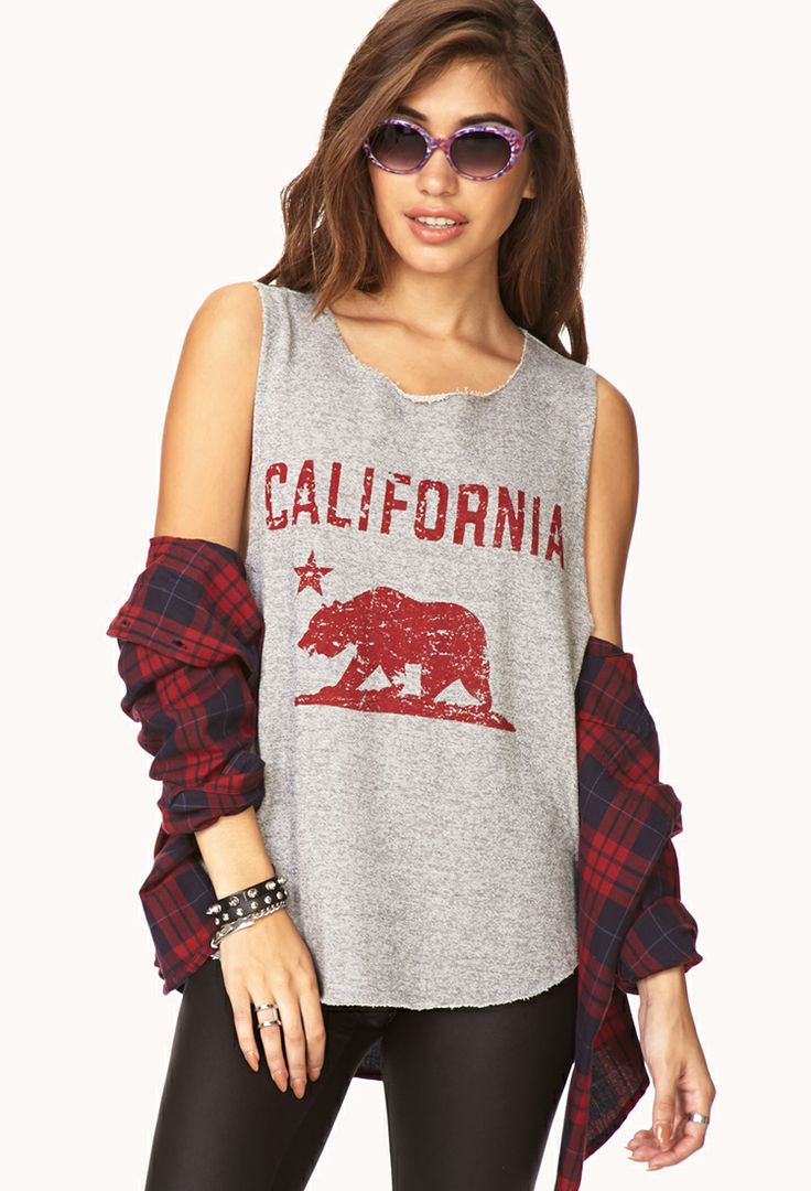 California Muscle Tee | FOREVER21 - 2000066541