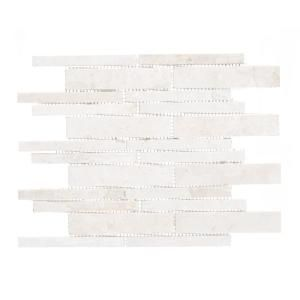 Jeffrey Court Stone Deck Fog 10-7/8 in. x 11-7/8 in. x 10 mm Stone Mosaic Tile 99251 at The Home Depot - Mobile