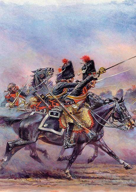 """""""Carabiniers at Austerlitz"""""""