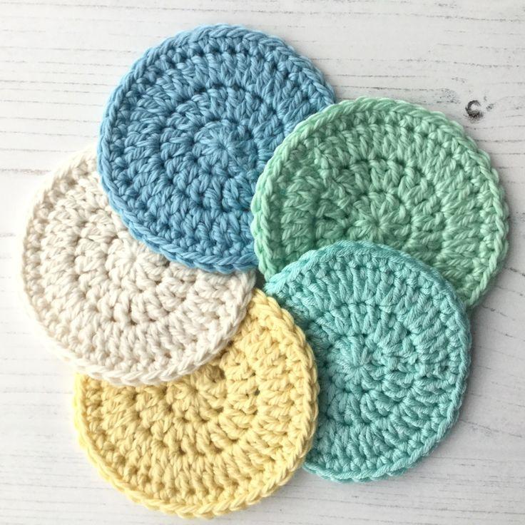 Crochet Reusable Makeup Remover Pads Makeup remover pads