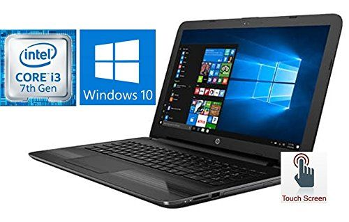 "HP Notebook 15.6"" Touchscreen Premium Laptop PC (2017 Version), 7th Gen Intel Core i3-7100U 2.4GHz Processor, 8GB DDR4 RAM, 1TB HDD, SuperMulti DVD Burner, Bluetooth, Windows 10 - E-VID.CO.UK"
