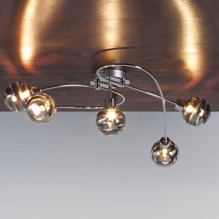 Plafonnier Chromé - Theron - Les plafonniers - Suspensions et plafonniers - Luminaires - Décoration d'intérieur - Alinéa