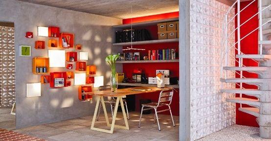 Decoração Criativa e Barata: Casa Possivel ~ Tudo Junto e Misturado