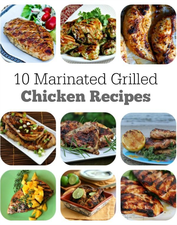 Grilled Chicken with Whiskey-Ginger Marinade This Whiskey-Ginger Marinade packs a powerful punch of flavor. The chicken browns over the hottest part of the grill (direct heat), then moves to the cooler side (indirect heat) to finish.