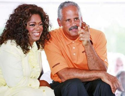 Oprah & Steadman  Such a beautiful couple.........