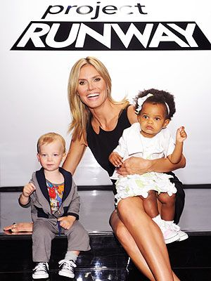 We just love the winning Project Runway designs that were selected for Heidi Klum's children's line, Truly Scrumptious.