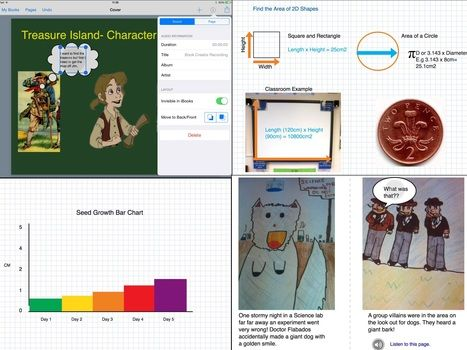 Shapes, lines and Paper Styles in Book Creator - May 2015   iPad Teachers Blog   Scoop.it