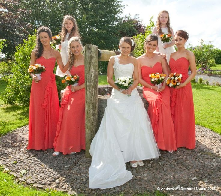 Bridal Party Waterford brides wedding photographer in Waterford