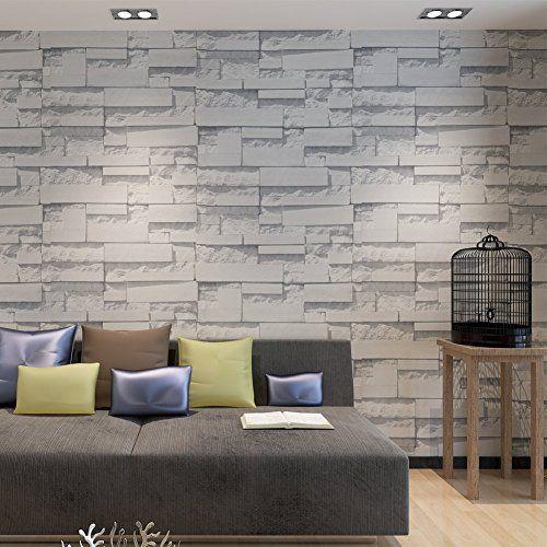 Nuova offerta in #cucina : Hanmero - Carta da parati 3d con motivo muro di mattoni colore 3 (grigio) a soli 24.64 EUR. Affrettati! hai tempo solo fino a 2016-10-11 23:30:00