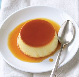 Basic Crème Caramel - my favorite dessert - made for Tom's 60th birthday.