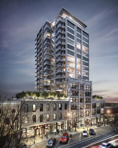 The next decade's downtown New West: cool, urban, alive and vibrant. (via TenthToTheFraser.ca)