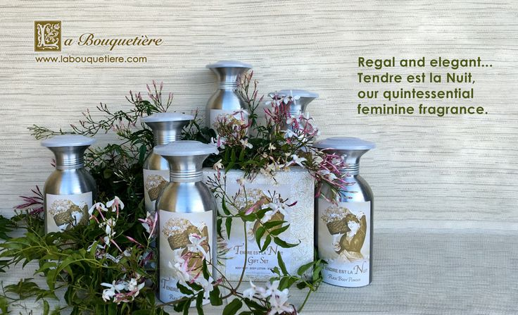 Our Best Selling French Fragrance!  A bouquet of the sweetest clusters of night blooming jasmine and lush roses are seductively entwined with tantalizing ylang ylang blossoms.