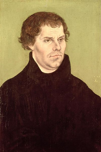 Лукас Кранах. Мартин Лютер. 1526