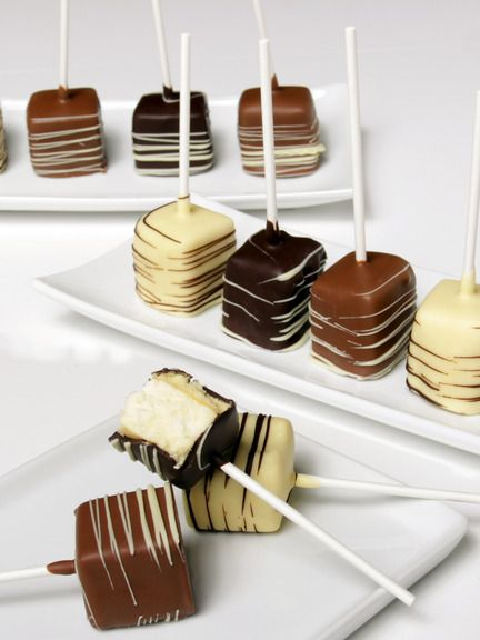 Cheesecake pops, Cheesecake and Pop on Pinterest