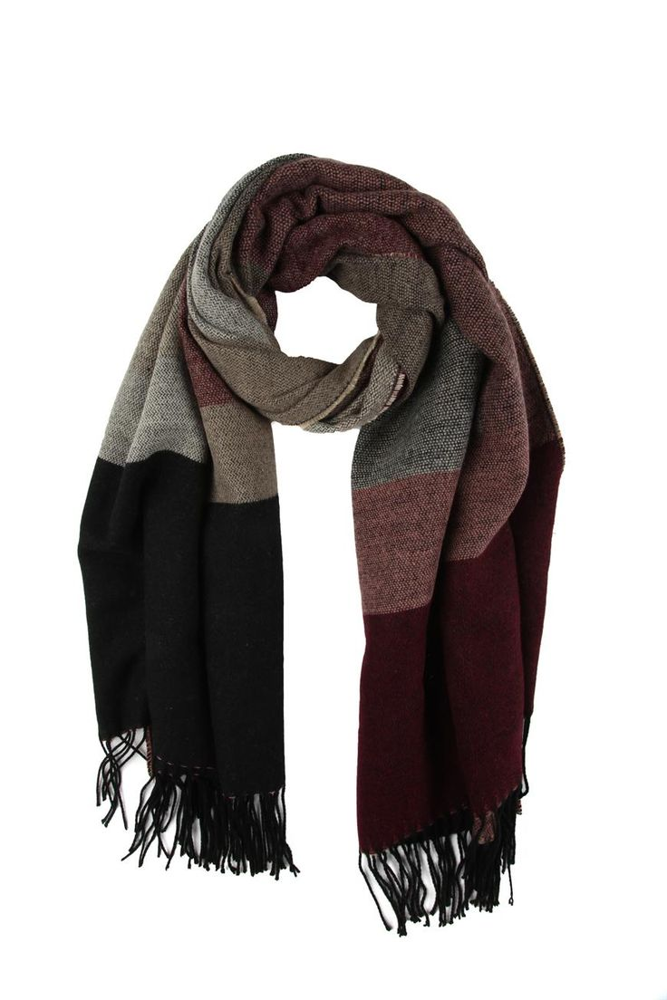 Blanket scarf from @Angie Morris On @Kay Beaver New Zealand #vintageknitaccessories #winter