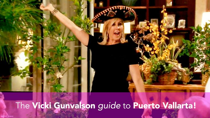 Puerto Vallarta, Mexico holds a special place in Vicki Gunvalson's heart! It's herretreat from (and sometimes host of) drama on Real Housewives of Orange County and the place she brings her family to get away from it all.She's been coming here for so long, she's even been dubbed the Mayor of Puerto Vallarta… so take... read more
