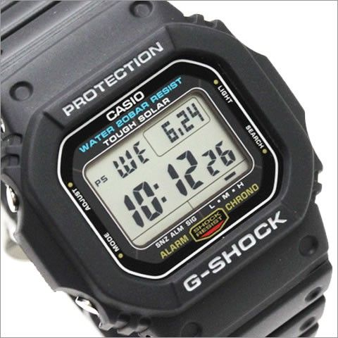 Casio G-Shock Tough Solar Watch G-5600E-1DR G5600E