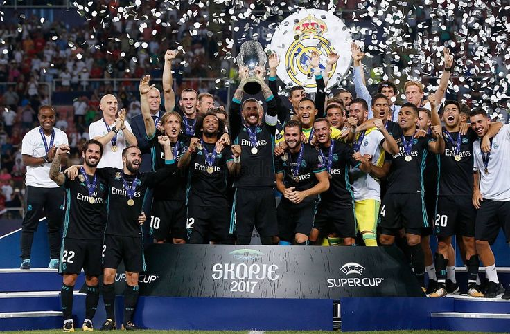 Real Madrid Uefa Supercup 2017 vs man.united