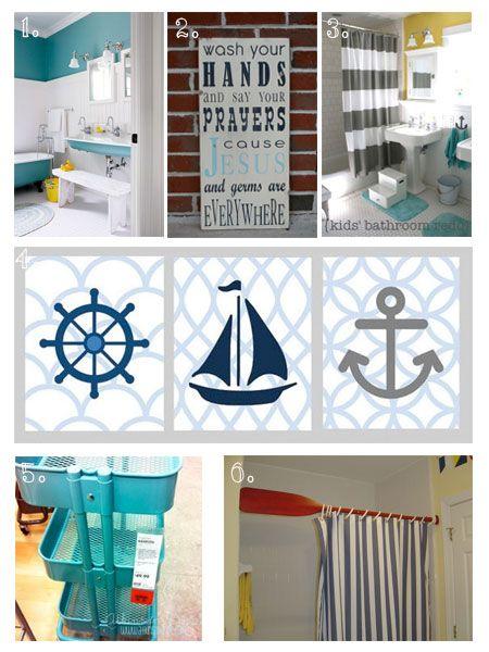 Best 25+ Nautical kids bathrooms ideas on Pinterest   Nautical ...