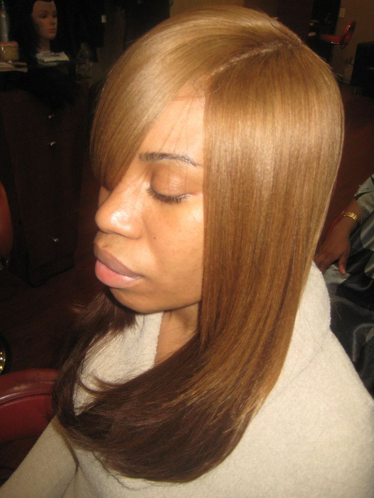 Full+Sewn+in+Hair+Weave | Invisible Part Weave